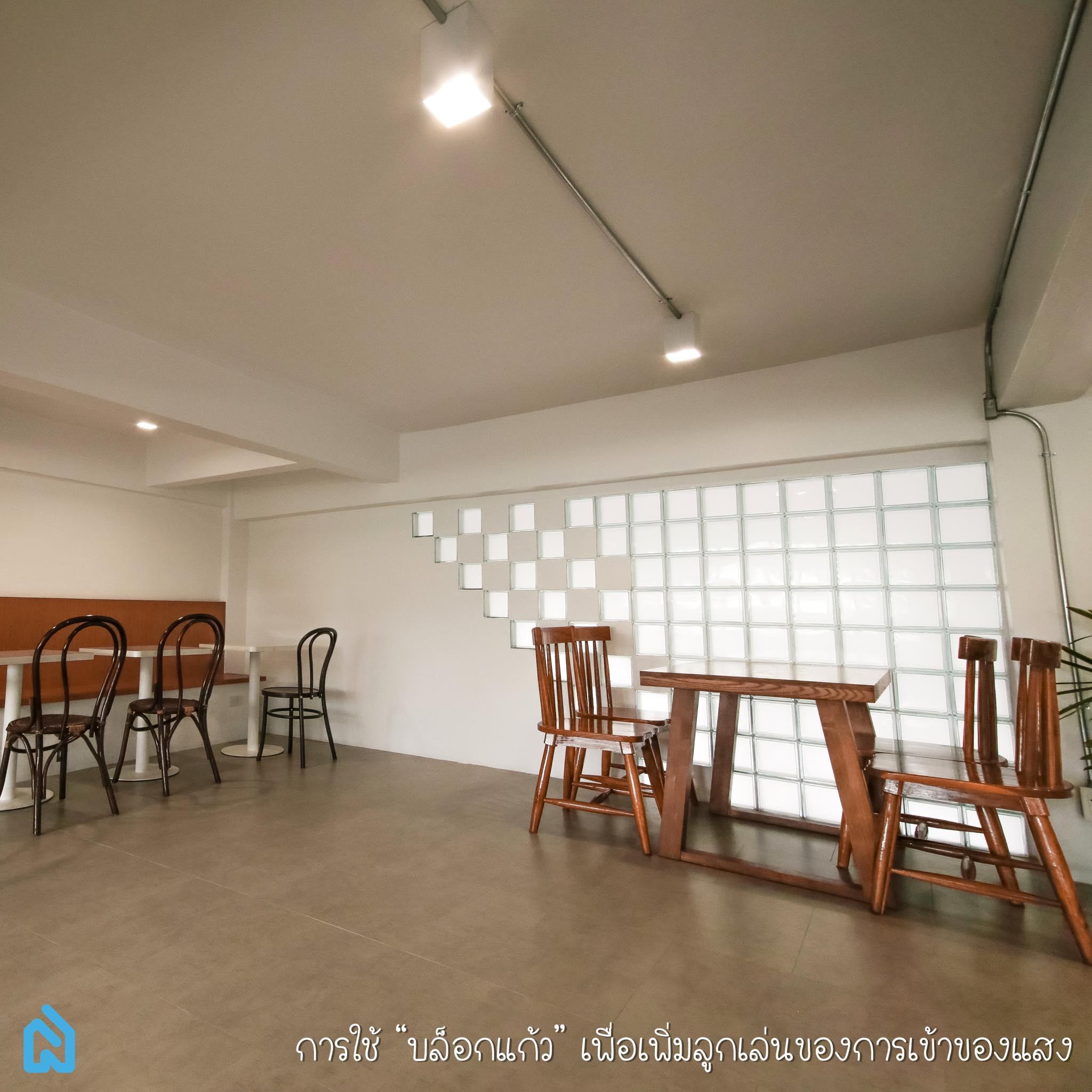 All In White cafe renovate ขอนแก่น