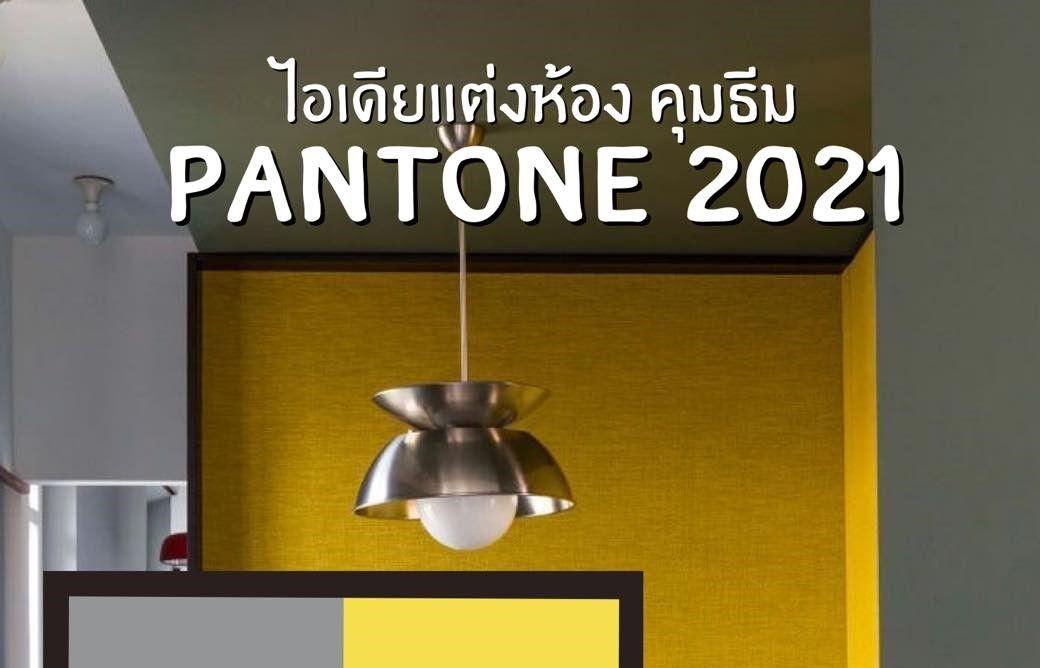 เลือกเเต่งบ้าน สไตน์ Pantone 2021