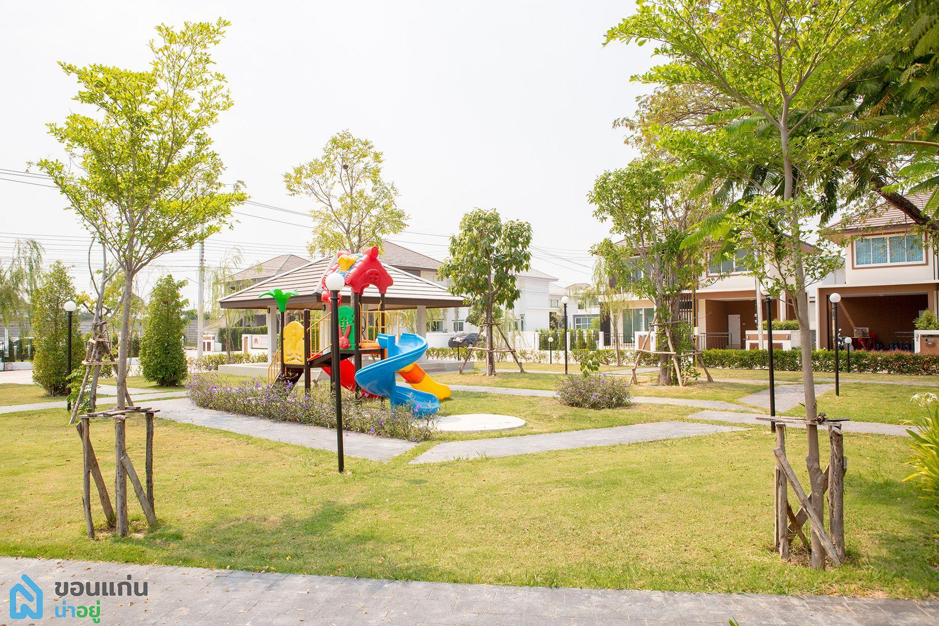 สินธาราพาร์ค บ้านสะอาด : สวนสาธารณะ