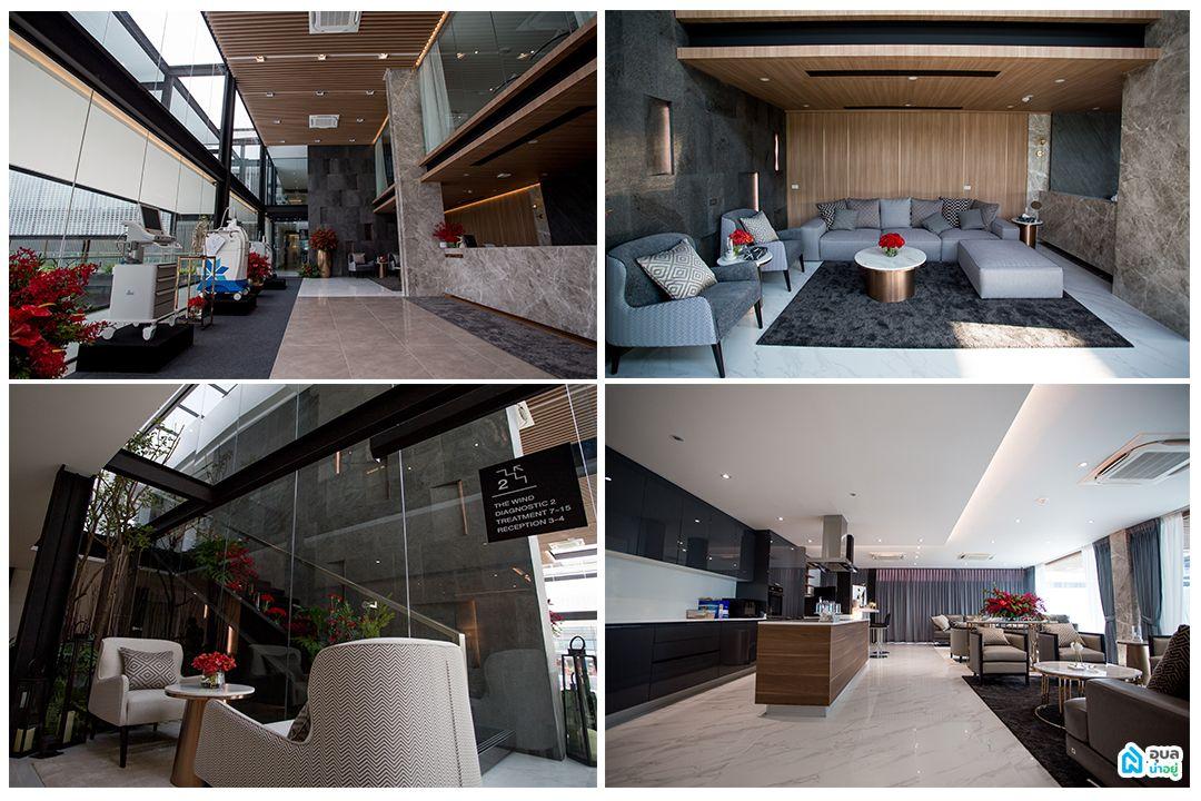 WIND Clinic - พื้นที่ส่วนภายในของตัวอาคาร
