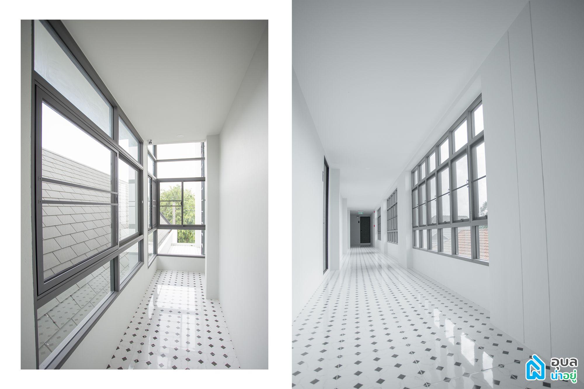 Penta P Residence - Single load corridor