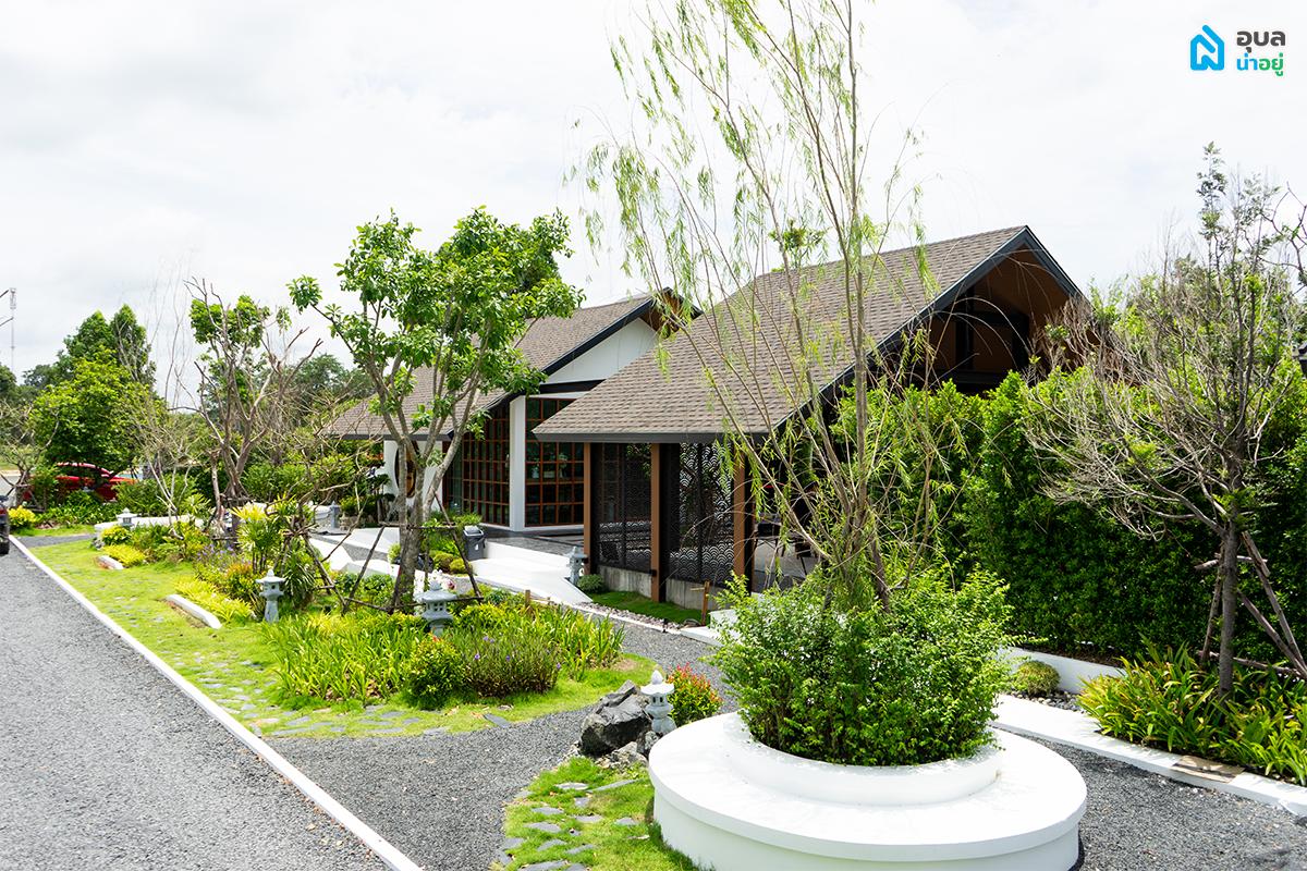 Ai garden cafe มุมด้านข้าง
